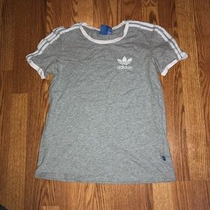 Grey Adidas T-Shirt Size XS